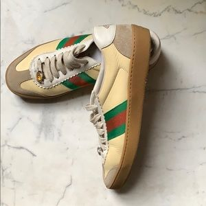 Gucci sneakers.